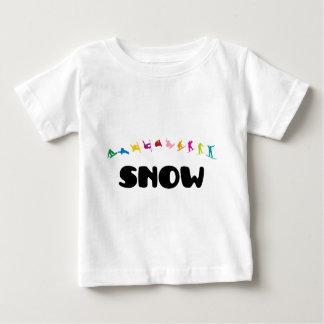 スノーボード ベビーTシャツ