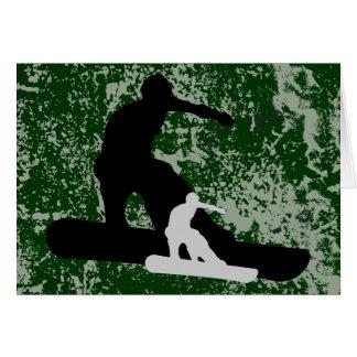 スノーボード: shadowstance カード
