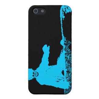 スノーボード: skeleboarder iPhone 5 ケース