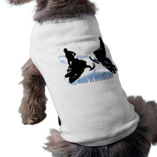 スノーモービルで行くこと- Snowmobilersペット衣類 ペット服