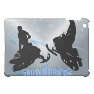 スノーモービルで行くこと- Snowrs iPad Mini Case