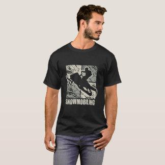 スノーモービルで行く発育阻害のアールデコ Tシャツ