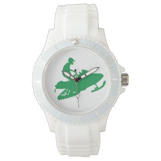 スノーモービルで行くSnowmoblier 腕時計