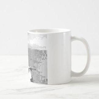 スノーモービルの自由 コーヒーマグカップ