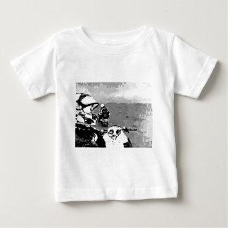 スノーモービルの自由 ベビーTシャツ
