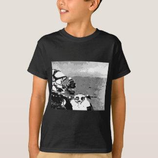 スノーモービルの自由 Tシャツ