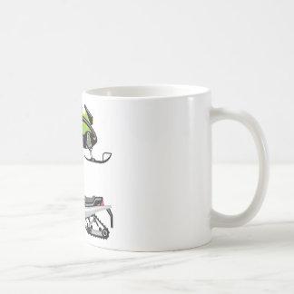 スノーモービル コーヒーマグカップ