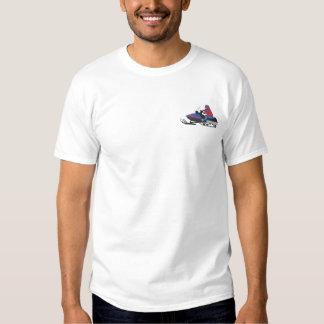 スノーモービル 刺繍入りTシャツ