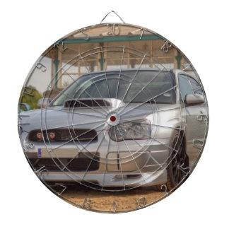 スバル・インプレッサSTi -体のキット(銀) ダーツボード