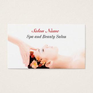スパの美しいのマッサージの健康サロンの名刺 名刺