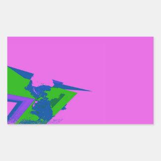 スパイク 長方形シール