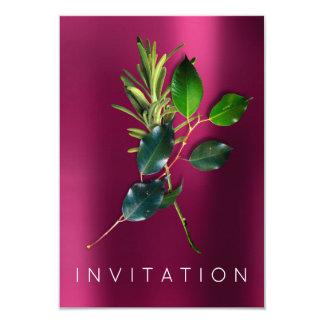 スパイスのオーガニックなイタリアンなシェフの夕食の緑の草木は上がりました カード