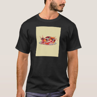 スパゲッティおよびミートボール Tシャツ