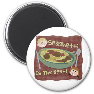 スパゲッティはベストです! マグネット