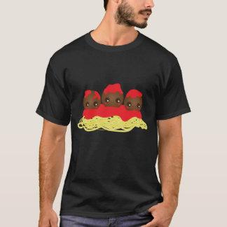 スパゲッティ及びミートボール Tシャツ