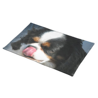スパニエル犬犬のランチョンマット ランチョンマット