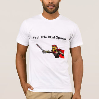 スパルタは刻みました Tシャツ