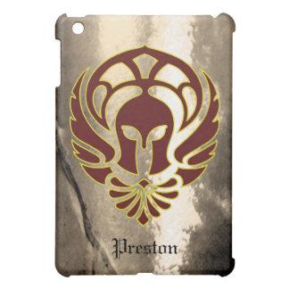 スパルタ式のギリシャの戦士のファンタジー iPad MINI カバー