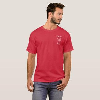 スパルタ式の刺客-人の基本的な暗いTシャツ Tシャツ