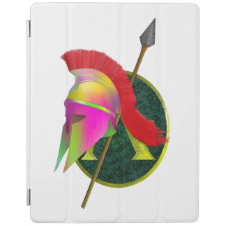 スパルタ式の戦士のカラフル iPadスマートカバー