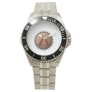 スパルタ式の盾の腕時計 腕時計