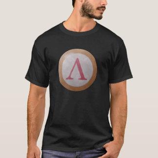 スパルタ式の盾のTシャツ Tシャツ