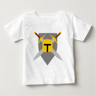 スパルタ式の盾 ベビーTシャツ