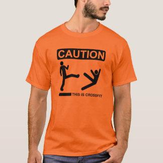 スパルタ式の蹴り Tシャツ