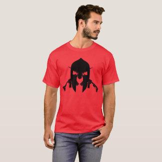 スパルタ式の黒 Tシャツ