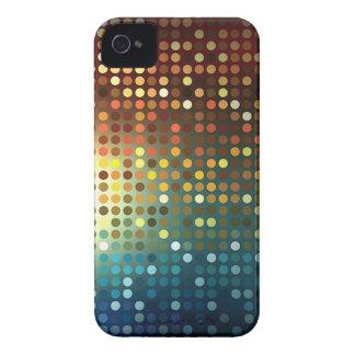 スパンコールのブラックベリーのはっきりしたな箱 Case-Mate iPhone 4 ケース