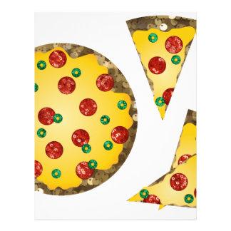 スパンコールピザ レターヘッド
