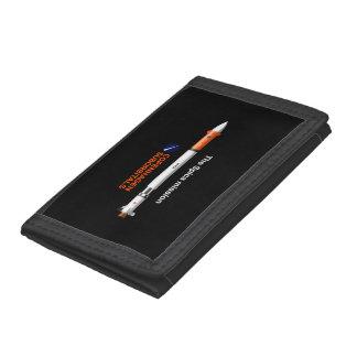 スピカの代表団の三重ナイロン財布