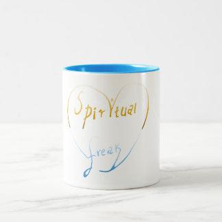 スピリチュアルの異常なツートーンマグ ツートーンマグカップ