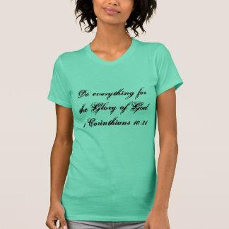 スピリチュアル、感動的な女性Tシャツ Tシャツ