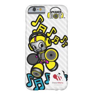 スピーカーの馬蝿の幼虫- iPhone 6のための言い分に電話をかけて下さい Barely There iPhone 6 ケース