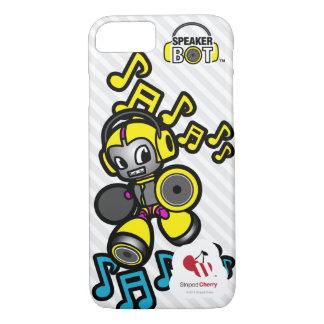 スピーカーの馬蝿の幼虫- iPhone 7のための言い分に電話をかけて下さい iPhone 8/7ケース