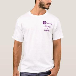 スピーチおよび討論 Tシャツ
