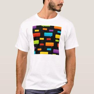 スピーチの泡背景 Tシャツ