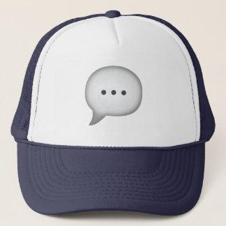 スピーチの泡- Emoji キャップ