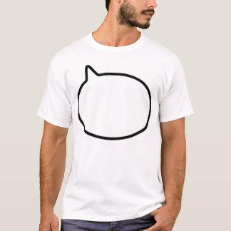 スピーチの泡 Tシャツ
