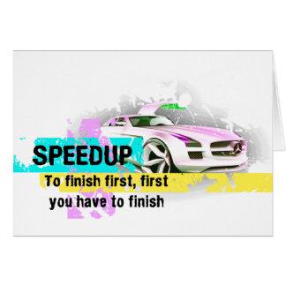 スピードアップ カード