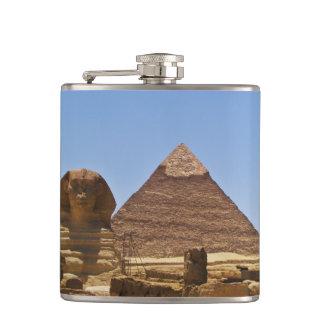 スフィンクスおよびピラミッド フラスク