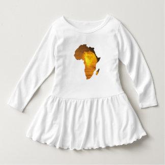 スフィンクスが付いているアフリカ ドレス
