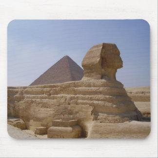 スフィンクスのピラミッド マウスパッド