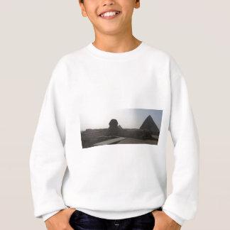スフィンクス、ギーザのピラミッド スウェットシャツ