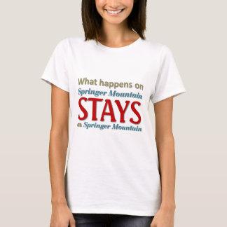 スプリンガー山 Tシャツ