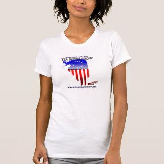 スプリングフィールドのお茶会のグループの女性のワイシャツ Tシャツ
