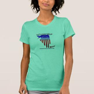 スプリングフィールドのお茶会の女性のタンクトップ Tシャツ