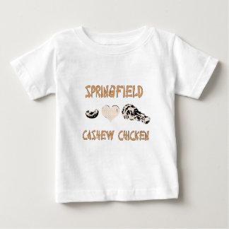 スプリングフィールドのカシューの鶏 ベビーTシャツ