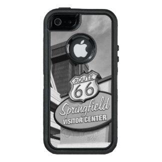 スプリングフィールドのグレースケールへの歓迎 オッターボックスディフェンダーiPhoneケース